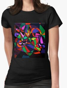 RAINBOW SNAKE 1.0 Womens Fitted T-Shirt