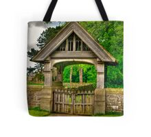 Lych-Gate, Holy Trinity, Coverham Tote Bag