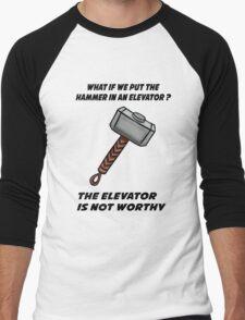Hammer Men's Baseball ¾ T-Shirt