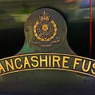Name Plate 'The Lancashire Fusilier' by Trevor Kersley