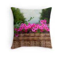 The Planter Basket Throw Pillow