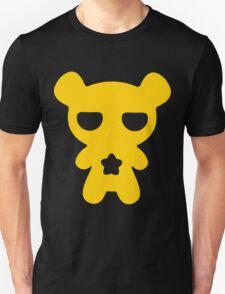 Lazy Bear Yellow Attention Unisex T-Shirt