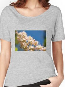 Macro of blooming Aesculus Women's Relaxed Fit T-Shirt