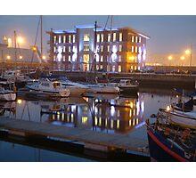 Hartlepool Marina Photographic Print