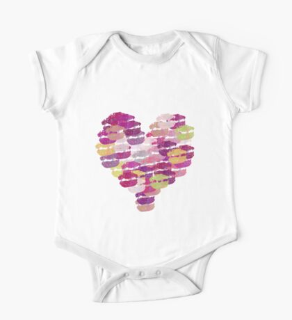 Heart of kisses Kids Clothes