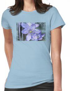 blue garden Womens Fitted T-Shirt