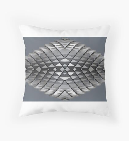 'Durian Roof' | Esplanade Complex • Singapore Throw Pillow