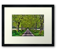Hexgrave Hall Estate Framed Print