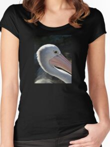 You Are A Pelican - Up Close and Personal Women's Fitted Scoop T-Shirt