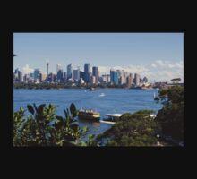 City of Sydney Skyline - Photo - Australian Harbor City Kids Clothes