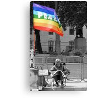 Peaceful Protest Canvas Print