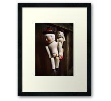 China Dolls Framed Print