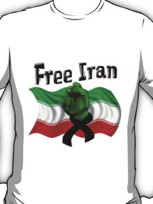 Free Iran, Support the Green Wave T-Shirt