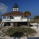 Boca Grande Lighthouse by kathy s gillentine