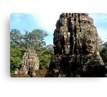 The Faces of Bayon - Angkor, Cambodia.  Canvas Print