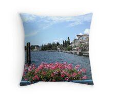 The lakeshore Throw Pillow
