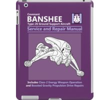 Banshee Service and Repair Manual iPad Case/Skin