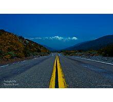""" Twilight on Thunder Road "". Photographic Print"