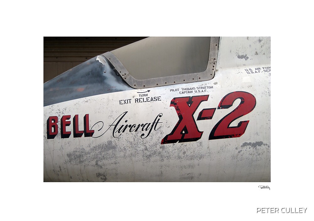 USAF X-2 at the boneyard by PETER CULLEY