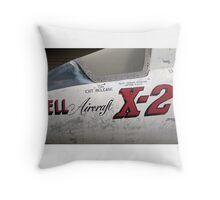 USAF X-2 at the boneyard Throw Pillow