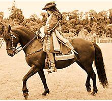 Oldbridge re-enactment , battle of the boyne. Photographic Print