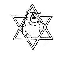 The owl of wisdom by MariaDiaz
