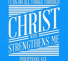Philippians 4:13 by SinisterSushi