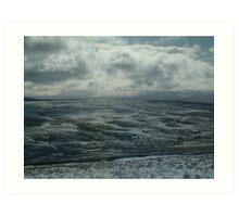 Dales winter Art Print
