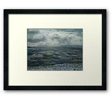 Dales winter Framed Print