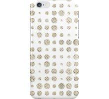 Vintage pastel grunge polka dots pattern iPhone Case/Skin