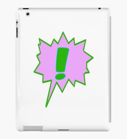 EXCLAMATION MARK SCREAMER BANG, iPad Case/Skin
