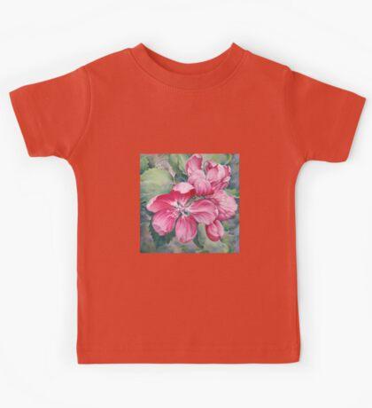 Flower of Crab-apple Kids Tee