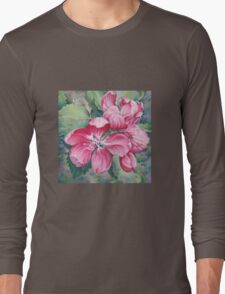 Flower of Crab-apple Long Sleeve T-Shirt