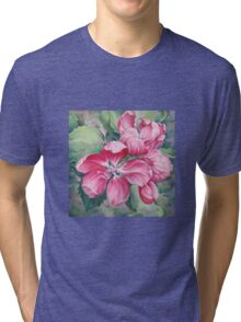 Flower of Crab-apple Tri-blend T-Shirt