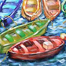 Happy Boats by Lesley Devanney