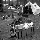 Civil war encampment 1 by Larry  Grayam