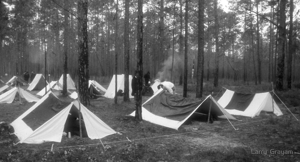 Yankee camp by Larry  Grayam