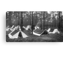 Yankee camp Canvas Print