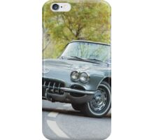 1959 Chevrolet Corvette C1 iPhone Case/Skin