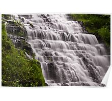 Slinky Waterfalls Poster