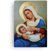 A Painting at Milk Grotto Canvas Print