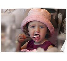Ice-cream Girl Poster