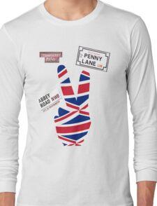 The Beatles Tribute T-Shirt Long Sleeve T-Shirt
