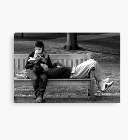 Laid Back Lunch Canvas Print