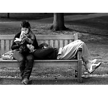 Laid Back Lunch Photographic Print