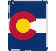 Colorado USA State Flag Bedspread T-Shirt Sticker iPad Case/Skin