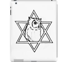The owl of wisdom iPad Case/Skin