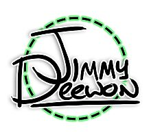 Jimmy Deewon - Dotted Circle Photographic Print
