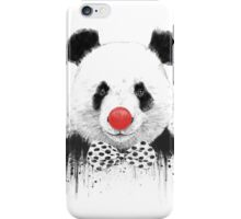 Clown panda iPhone Case/Skin
