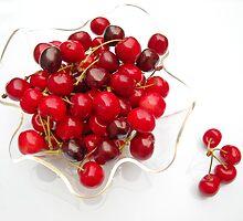 cherries by KERES Jasminka